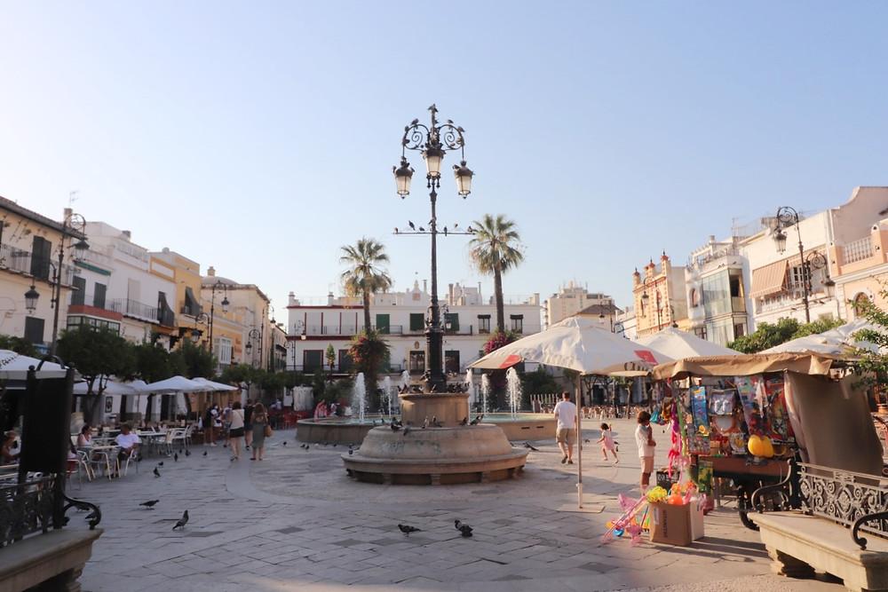 Plaza del Cabildo in Sanlucar de Barrameda