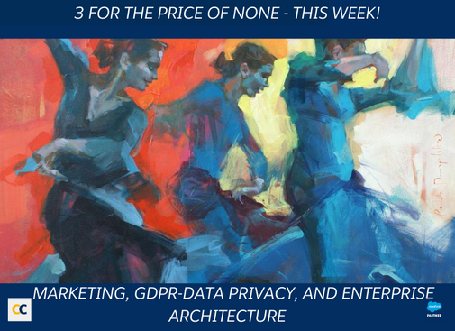 Free event week on Salesforce, GDPR, Data Privacy its marketing impact and road to success