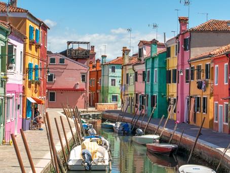 Fotografo del Lago di Garda, servizio fotografico a Burano durante il lockdown