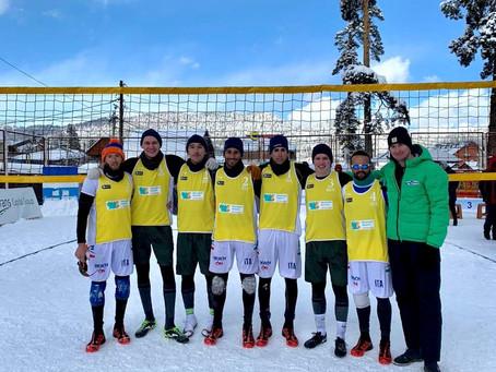 Игроки «Урала» стали пятыми на этапе чемпионата Европы по волейболу на снегу