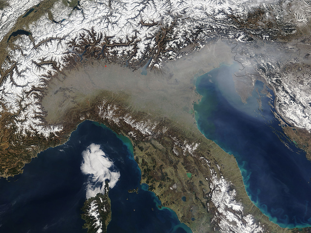 Smog Bacino Padano