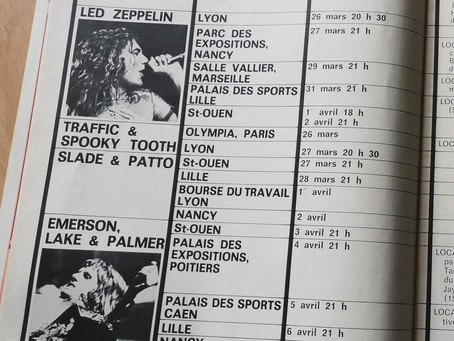 Le printemps musical était chaud sur la France en 1973 !