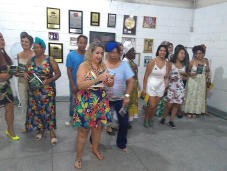 """Lançamento do livro """"Compromisso"""" no Centro Cultural Arlindo Cruz, em Realengo - dezembro 2018"""