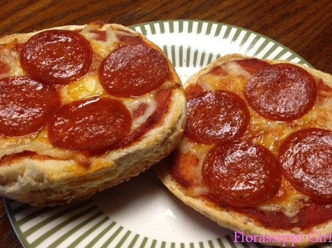 Left Over Buns - Pizza