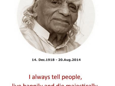 Celebrating 100 years - BKS Iyengar's birthday