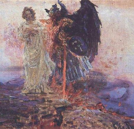 O Anjo da Morte e a praga dos Céus