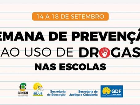 Diálogo com a família é importante para prevenção contra as drogas