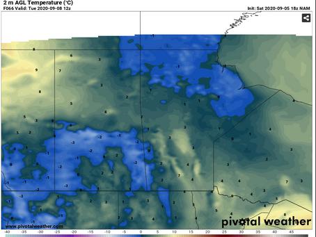 Below-freezing temperatures expected next week for Prairies