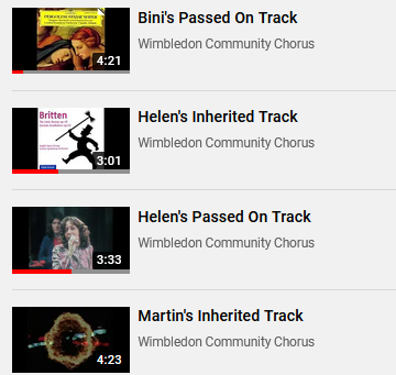 Did you miss these - Inheritance Tracks