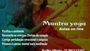 AULA DE MANTRA YOGA
