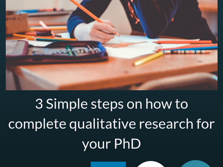 Dissertation Solved - Understanding the 3 Stages for Conducting a Generic Qualitative Study