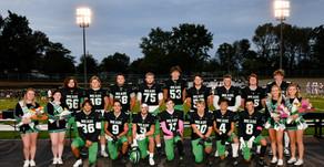 MCHS football and cheerleaders say goodbye