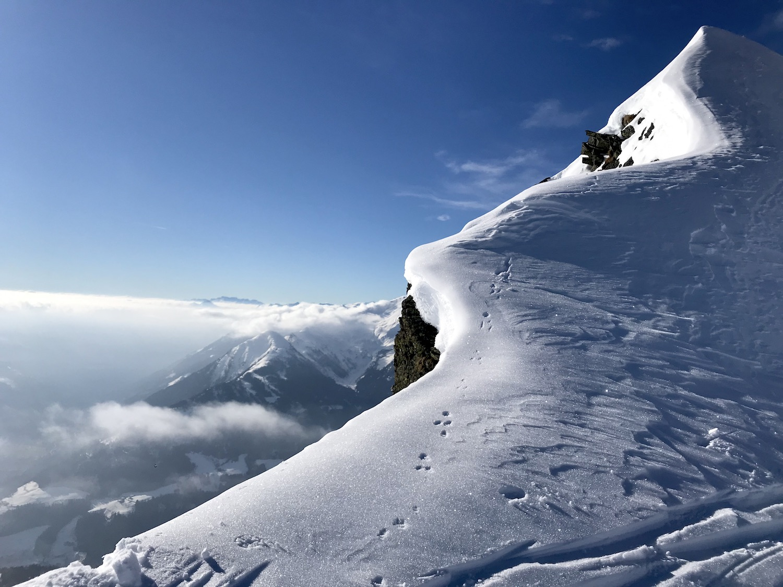 Wechte am Gipfel, Kleine Kreuzspitze Ratschingstal