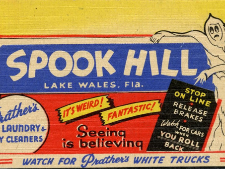 This October Check Out One of Florida's Creepiest Historic Places: Spook Hill in Lake Wales