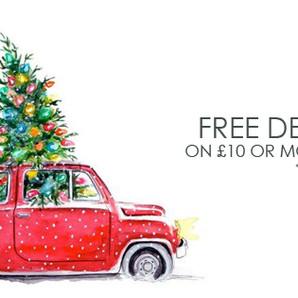 CHRISTMAS BONUS: FREE DELIVERY
