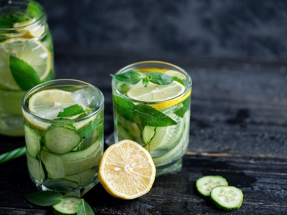 Snadný detoxikační nápoj