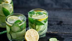 Detoxikační nápoj - povánoční očista