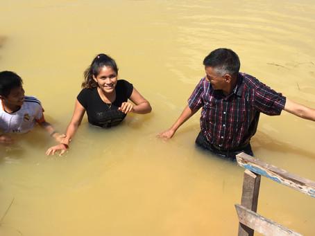 Alisson got Baptized!