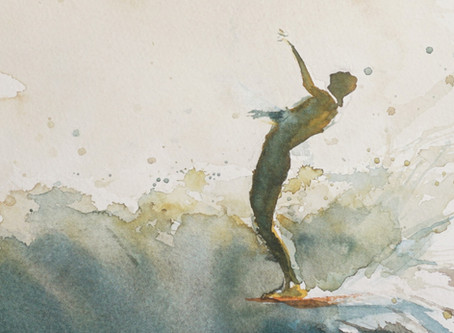 Surfing as a way of self expression - waves by johny blog