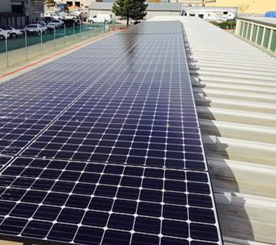 Commercial Solar PV Plant installation
