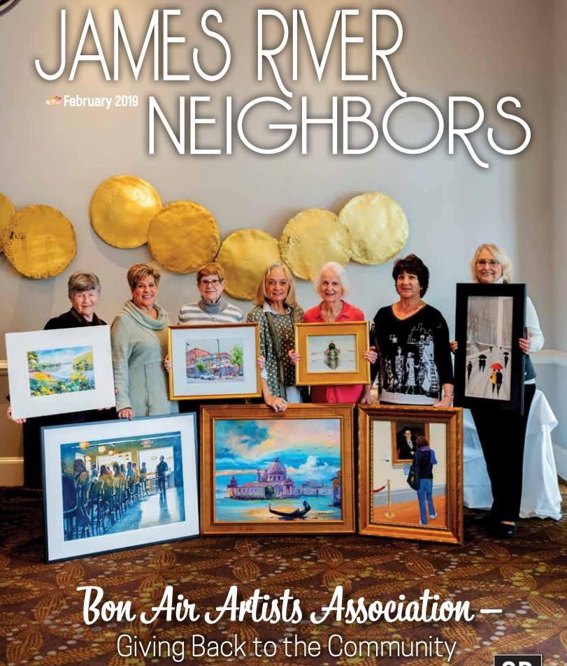 Bon Air Artists Annual Show Fore Children 2019 James River Neighbors Magazine