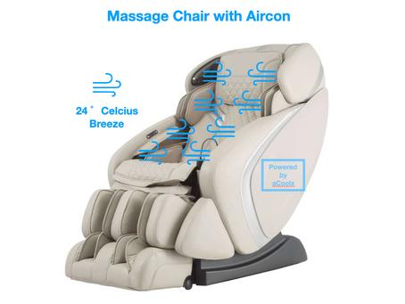 Massage Chair with an inbuilt Air-conditioner