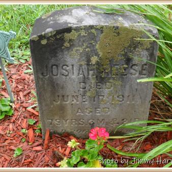 Josiah Reese's burial