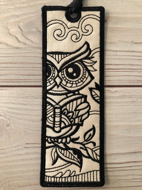 Zen Owl Bookmark
