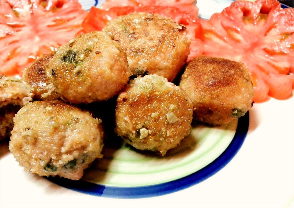 Polpette di tonno rosso agli agrumi