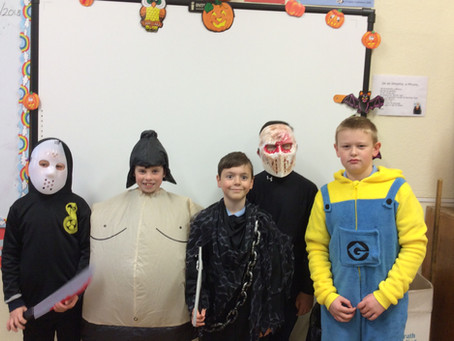 Wizards, vampires and clowns abound in Fourth Class today