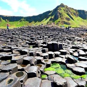 La Calzada del Gigante (Giant's Causeway) y la leyenda del gigante de IRLANDA DEL NORTE