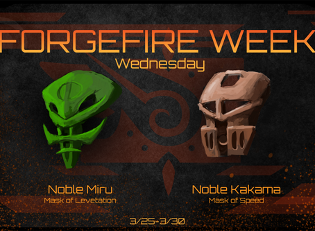 FORGEFIRE Wednesday: Masks of Mobility