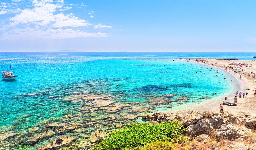 Frangokastello Beach in Southern Crete