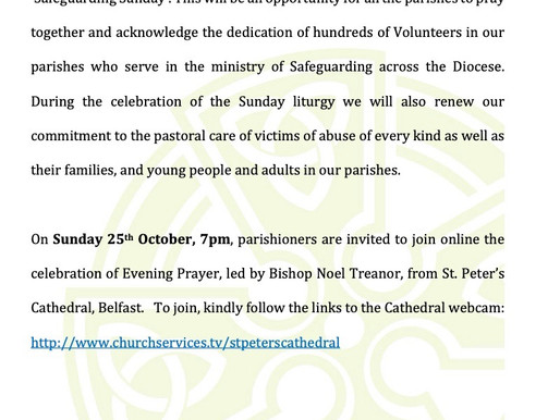 Safeguarding Sunday