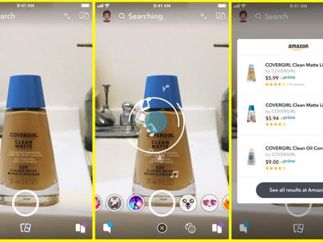 Tech watch - Snapchat + Amazon =