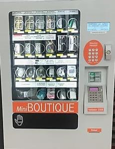 distributeur automatique, produits high-tech, distribution