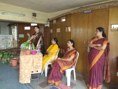 'Mugdha Mirajgaonkar Interschool speech competition'