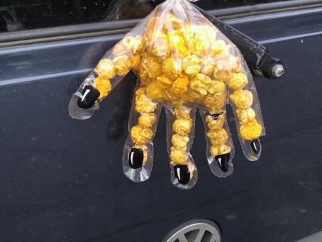 Halloween Popcorn Hand
