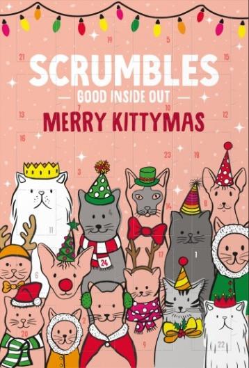Scrumbles advent calendar for cats