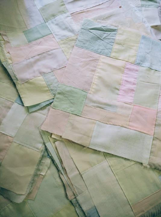 Crumb quilt elements