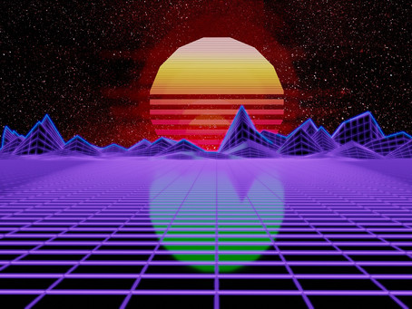 Six Spotify playlists with #synthwave music!