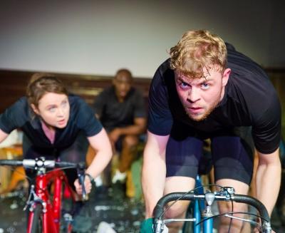 Matthew Heywood and Vicky Binns in Octagon Theatre Bolton's production of Beryl. c Jonathan Keenan