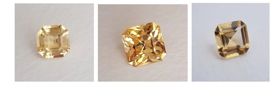 Golden Topaz Gemstones