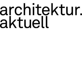 PUBLICATION // Veröffentlichung in architektur