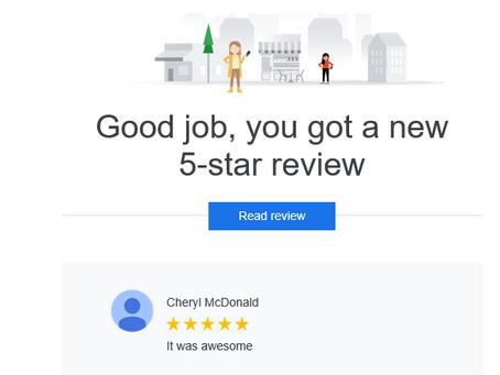 5 Star Review! Thank you! #riovistafarms