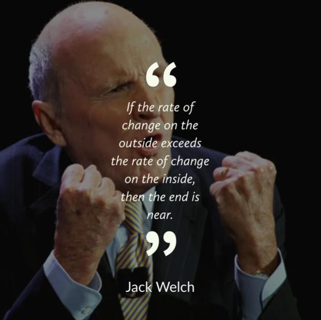 Џек Велч за промените