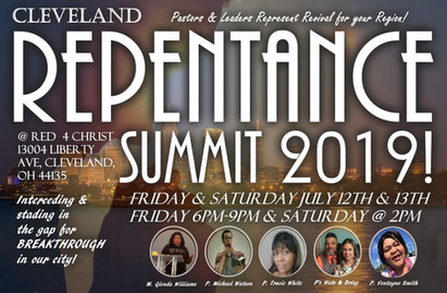 Repentance Summit this weekend!