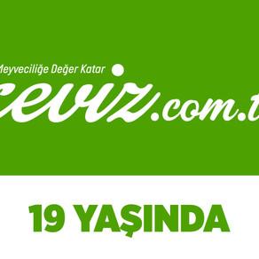 Ceviz.com.tr 19 Yaşında...