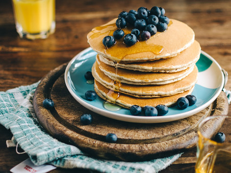 Low calorie fluffy pancakes