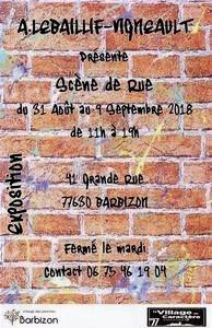 Annie Lebaillif-Vigneault expose à Barbizon